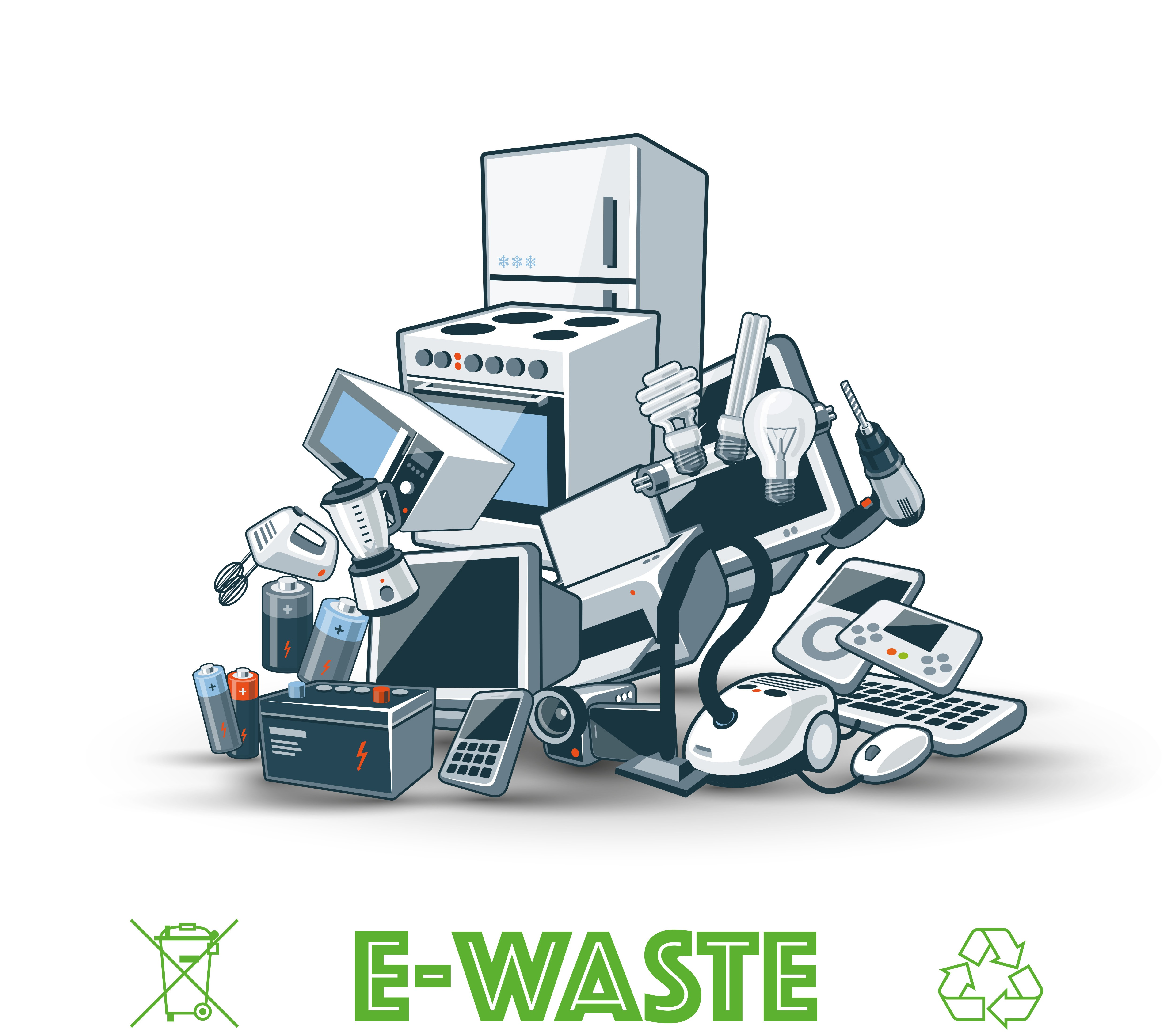 2017 In With The New And Out With E Waste Scrap Metal