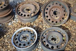 Moffatt Scrap Iron & Metal Inc.- Metal Recycling- Tire Rims